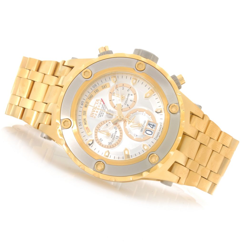 626-874 - Invicta Reserve 52mm Specialty Subaqua Swiss Made Quartz Chronograph Bracelet Watch