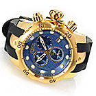 626-887 - Invicta Reserve 54mm Venom Swiss Quartz Chronograph Polyurethane Strap Watch w/ One-Slot Dive Case