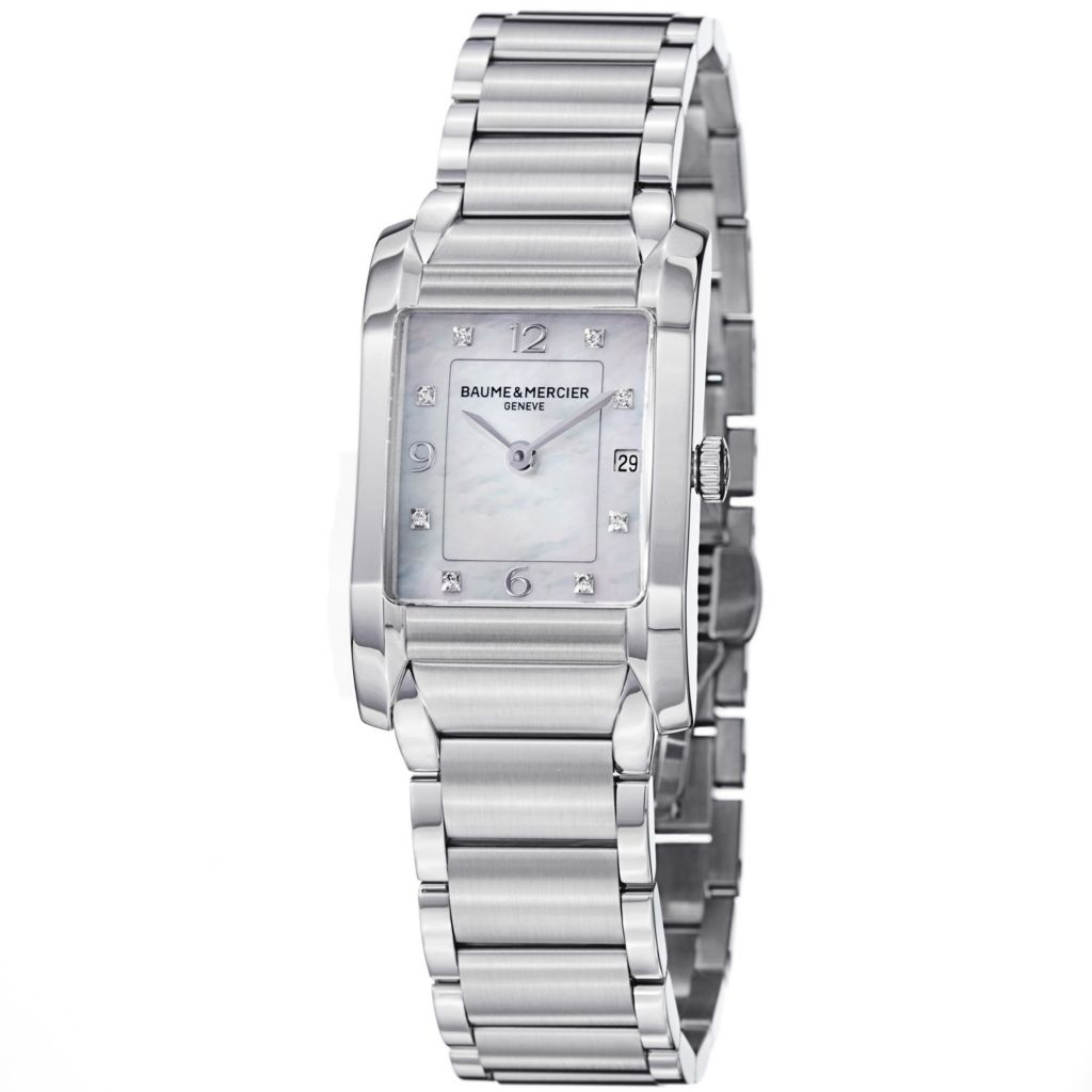626-922 - Baume & Mercier Women's Hampton Swiss Made Quartz Mother-of-Pearl Dial Bracelet Watch