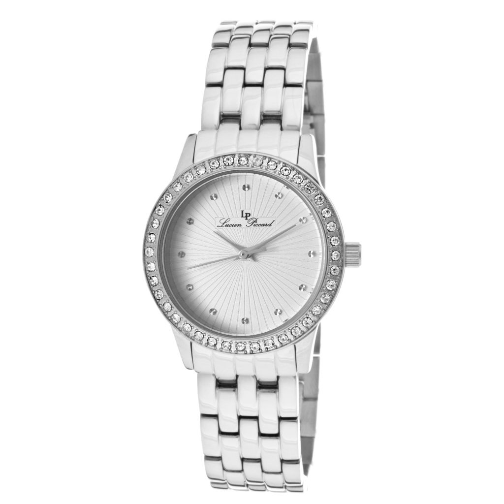 626-985 - Lucien Piccard Women's Monte Velan Quartz Stainless Steel Bracelet Watch