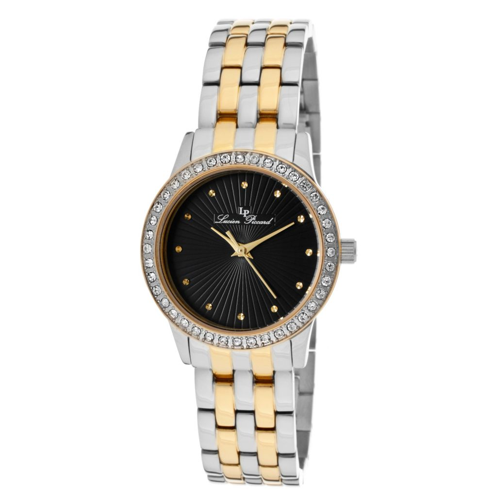 626-986 - Lucien Piccard Women's Monte Velan Quartz Stainless Steel Bracelet Watch