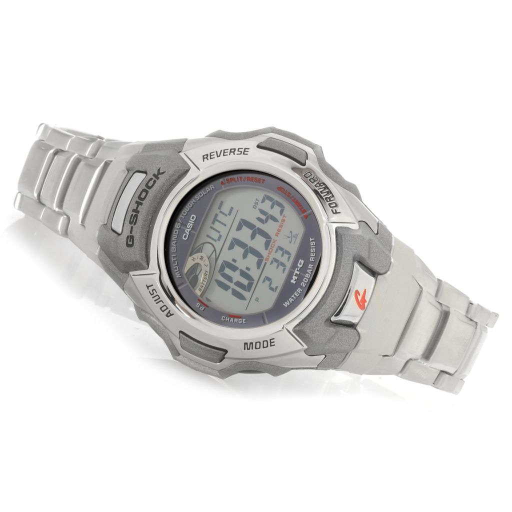 627-014 - Casio 44mm G-Shock MB6 Atomic Solar Digital Quartz Bracelet Watch