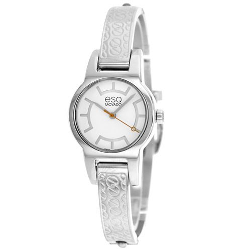 627-154 - ESQ Movado Women's Nova Swiss Quartz Silver-tone Stainless Steel Bracelet Watch