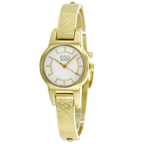 627-155 - ESQ Movado Women's Nova Swiss Quartz Gold-tone Stainless Steel Bracelet Watch