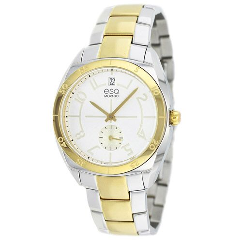 627-157 - ESQ Movado Women's Origin Swiss Quartz Two-tone Stainless Steel Bracelet Watch