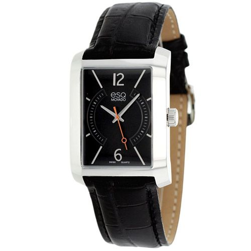 627-159 - ESQ Movado 30mm Synthesis Swiss Quartz Leather Strap Watch