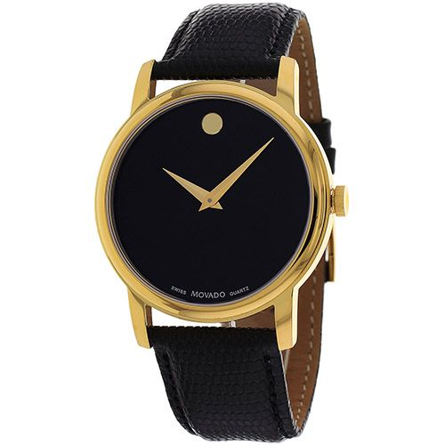 627-180 - Movado 38mm Classic Swiss Quartz Leather Strap Watch