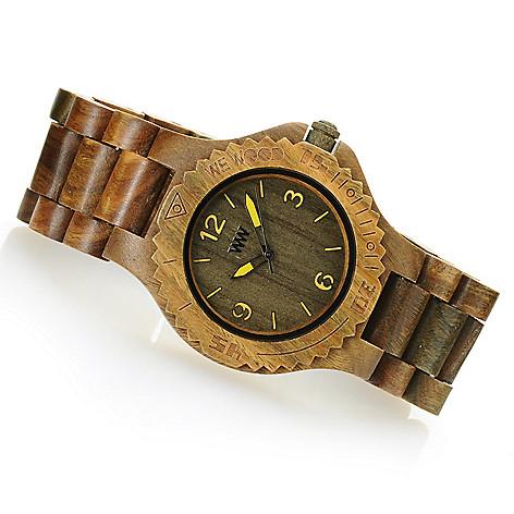 627-301 - WeWOOD 42mm ''Kale'' Quartz Wooden Bracelet Watch