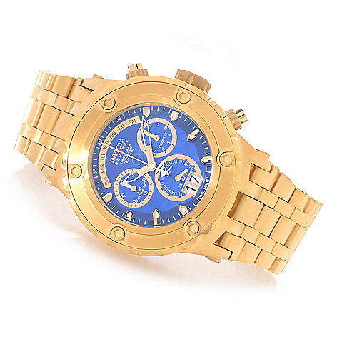 627-305 - Invicta Reserve 52mm Specialty Subaqua Swiss Made Quartz Chronograph Stainless Steel Bracelet Watch