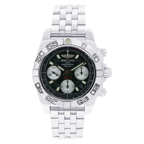 627-321 - Breitling 41mm Chronomat Swiss Automatic Chronograph Stainless Steel Bracelet Watch