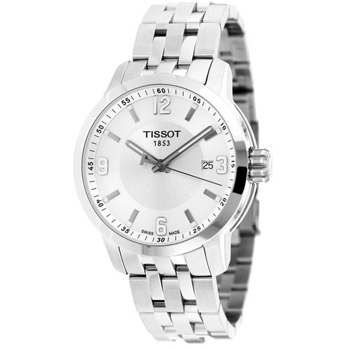 627-339 - Tissot 39mm PRC 200 Swiss Made Quartz Stainless Steel Bracelet Watch
