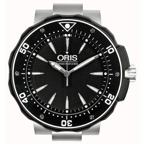 627-389 - Oris Swiss Quartz Stainless Steel Wall Clock