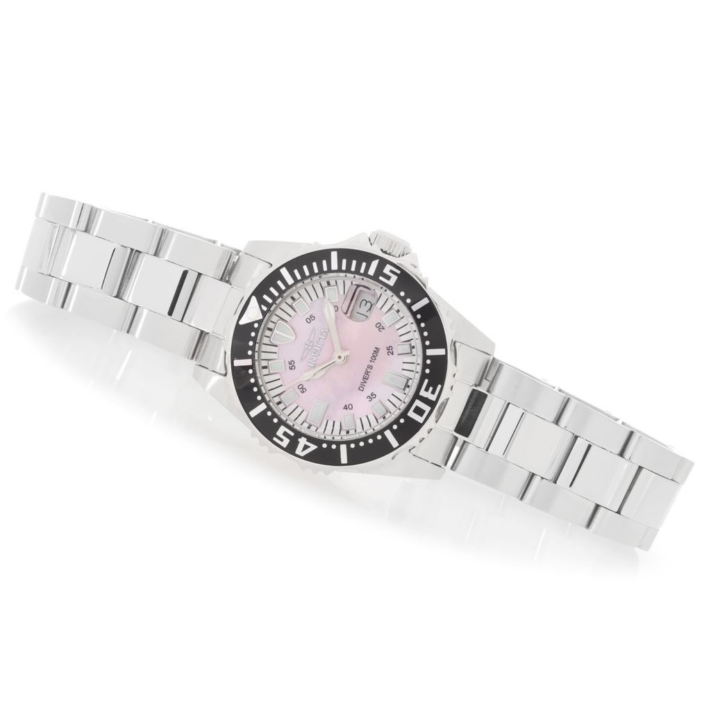 627-432 - Invicta Women's Pro Diver Abyss Quartz Stainless Steel Bracelet Watch