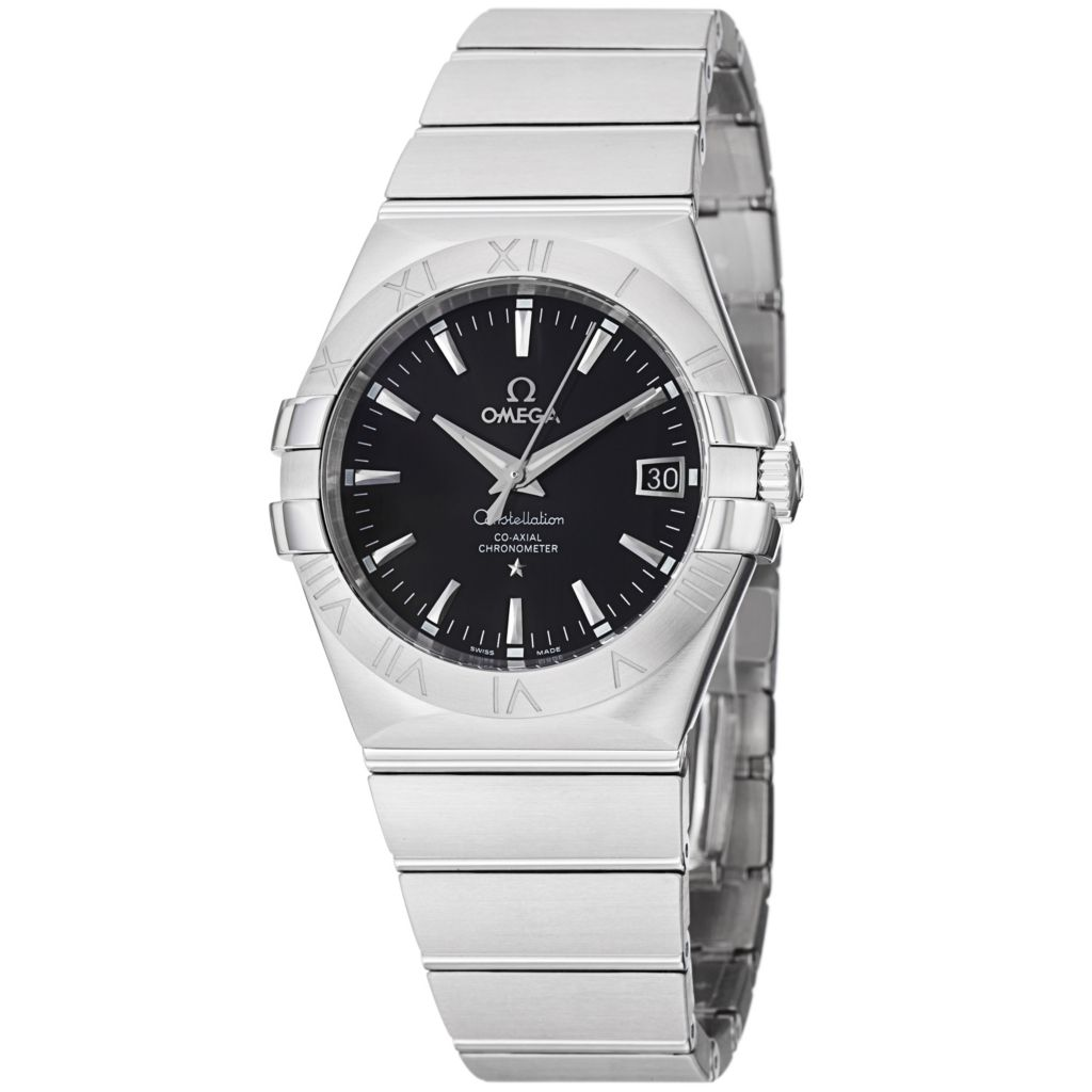 627-444 - Omega 35mm Constellation Swiss Made Automatic COSC Date Stainless Steel Bracelet Watch