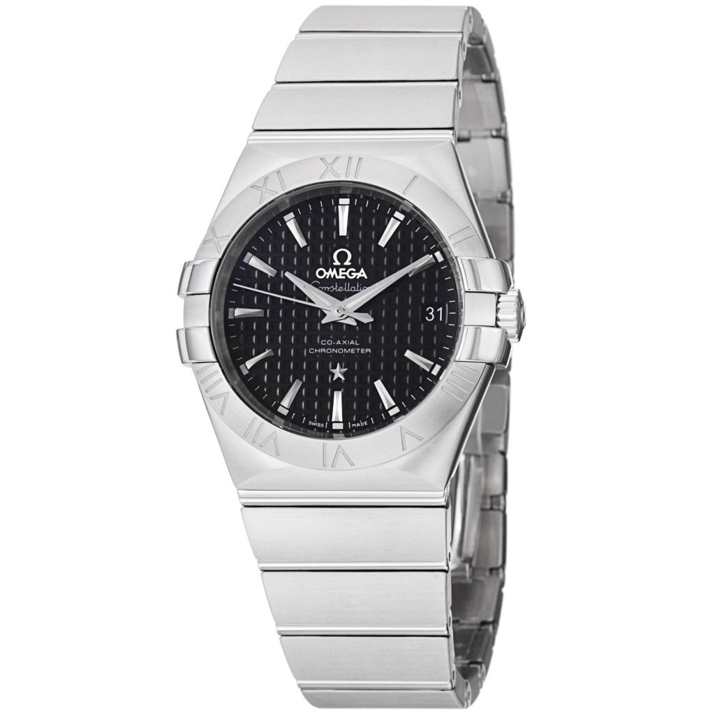 627-445 - Omega 35mm Constellation Swiss Made COSC Automatic Stainless Steel Bracelet Watch