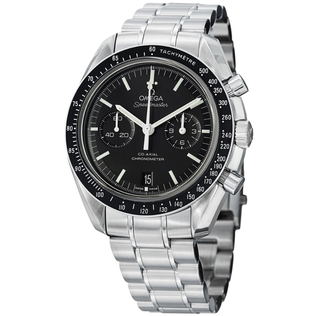 627-453 - Omega 45mm Moonwatch Swiss Made COSC Automatic Chronograph Stainless Steel Bracelet Watch