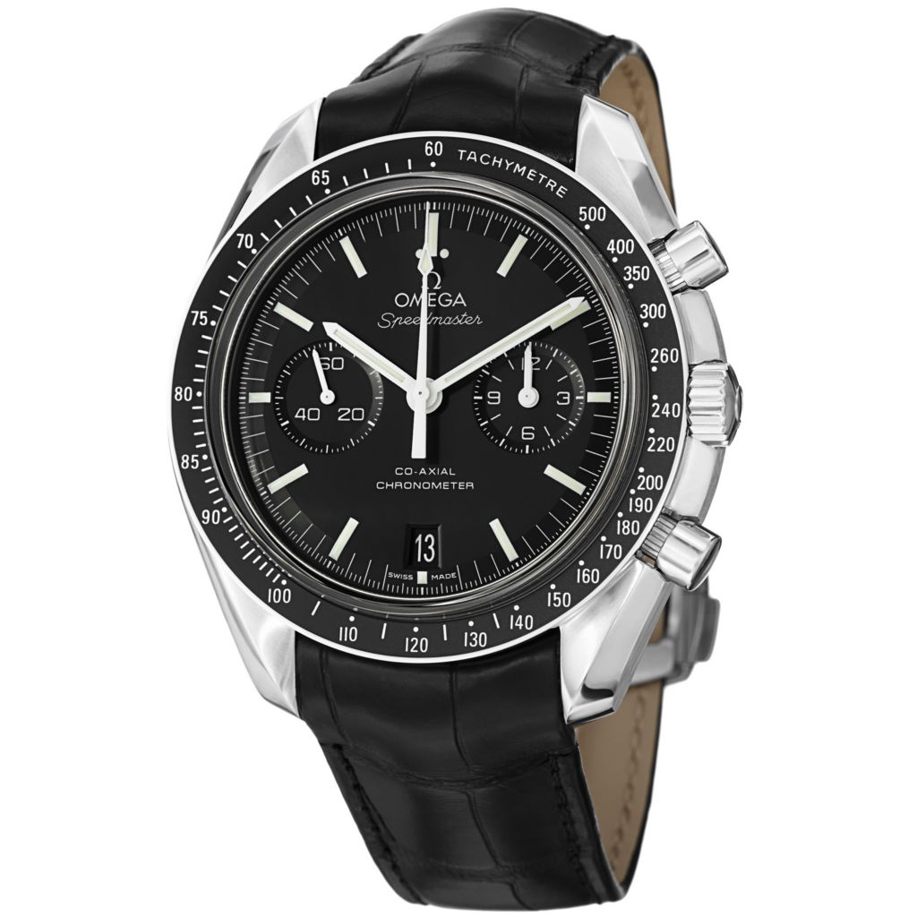 627-454 - Omega 45mm Moonwatch Swiss Made COSC Automatic Chronograph Stainless Steel Strap Watch