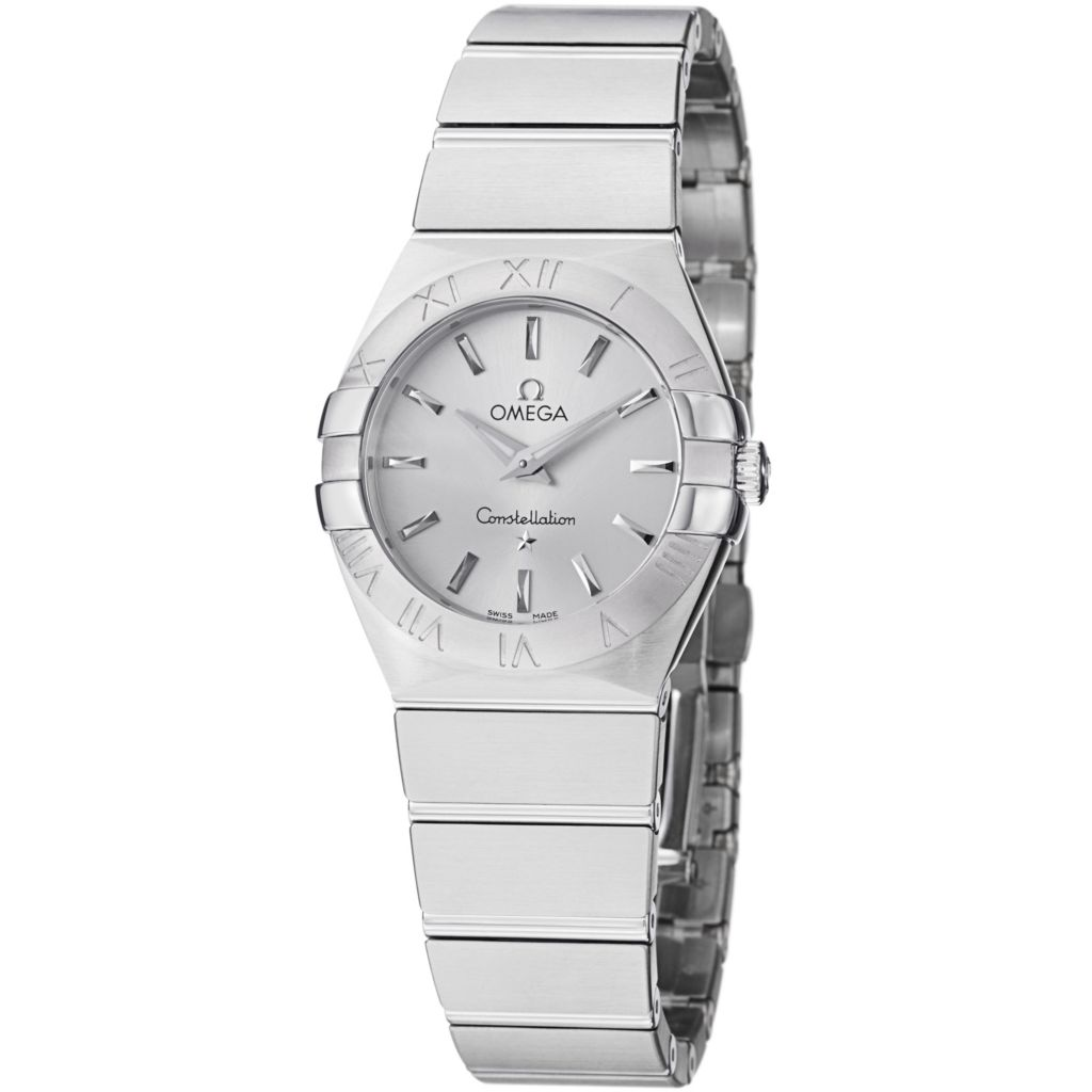 627-471 - Omega Women's Constellation Swiss Quartz Stainless Steel Bracelet Watch