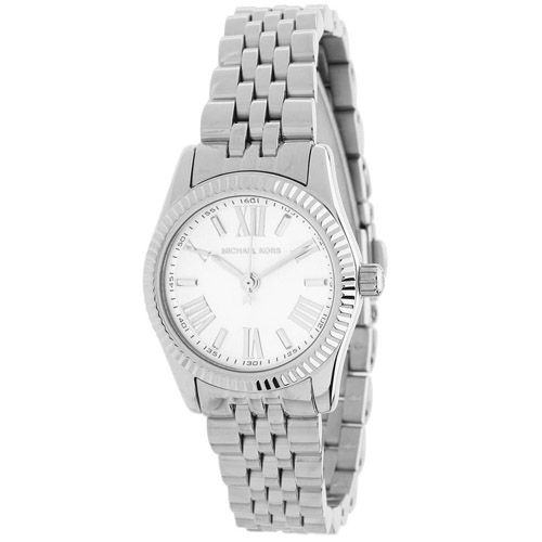 627-630 - Michael Kors Women's Petite Lexington Quartz Stainless Steel Bracelet Watch