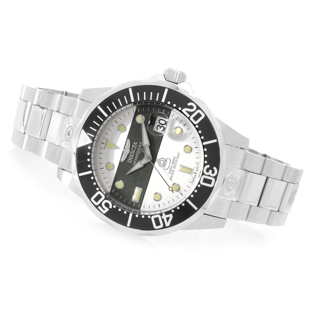 627-723 - Invicta 47mm Grand Diver Automatic Stainless Steel Bracelet Watch