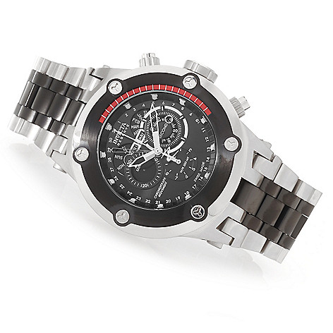627-736 - Invicta Reserve 52mm Specialty Subaqua Swiss Made Quartz Chronograph Stainless Steel Bracelet Watch