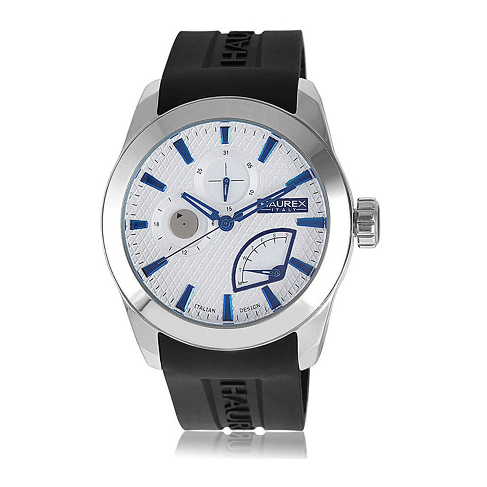 627-740 - Haurex Italy 44mm Magister Quartz Multi Function Stainless Steel Strap Watch
