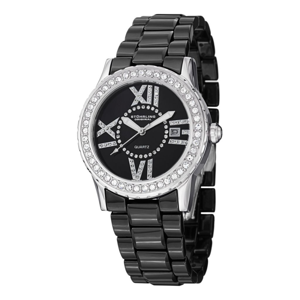 627-945 - Stührling  Original Women's Thalia Quartz Ceramic Bracelet Watch