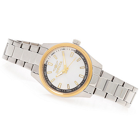 627-998 - Invicta Women's Specialty Quartz Mother-of-Pearl Stainless Steel Bracelet Watch