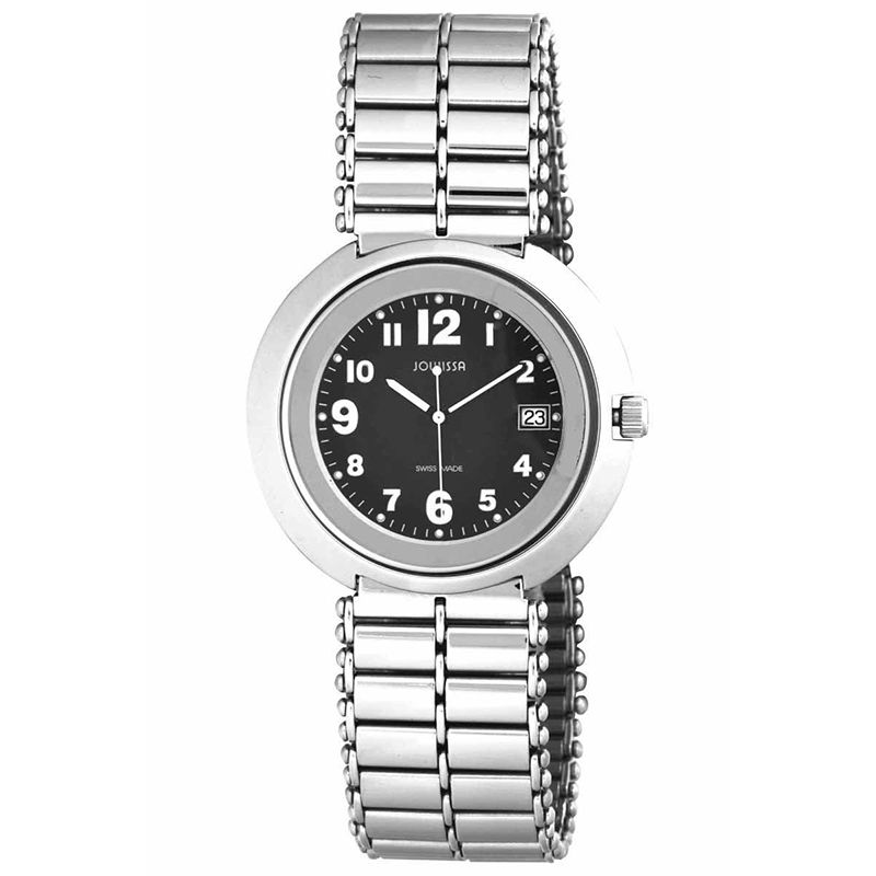 628-024 - Jowissa 42mm Pegasus Swiss Made Quartz Stainless Steel Bracelet Watch