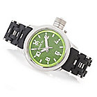 628-028 - Invicta 42mm or 52mm Russian Diver Spider Quartz Bracelet Watch w/ One-Slot Dive Case