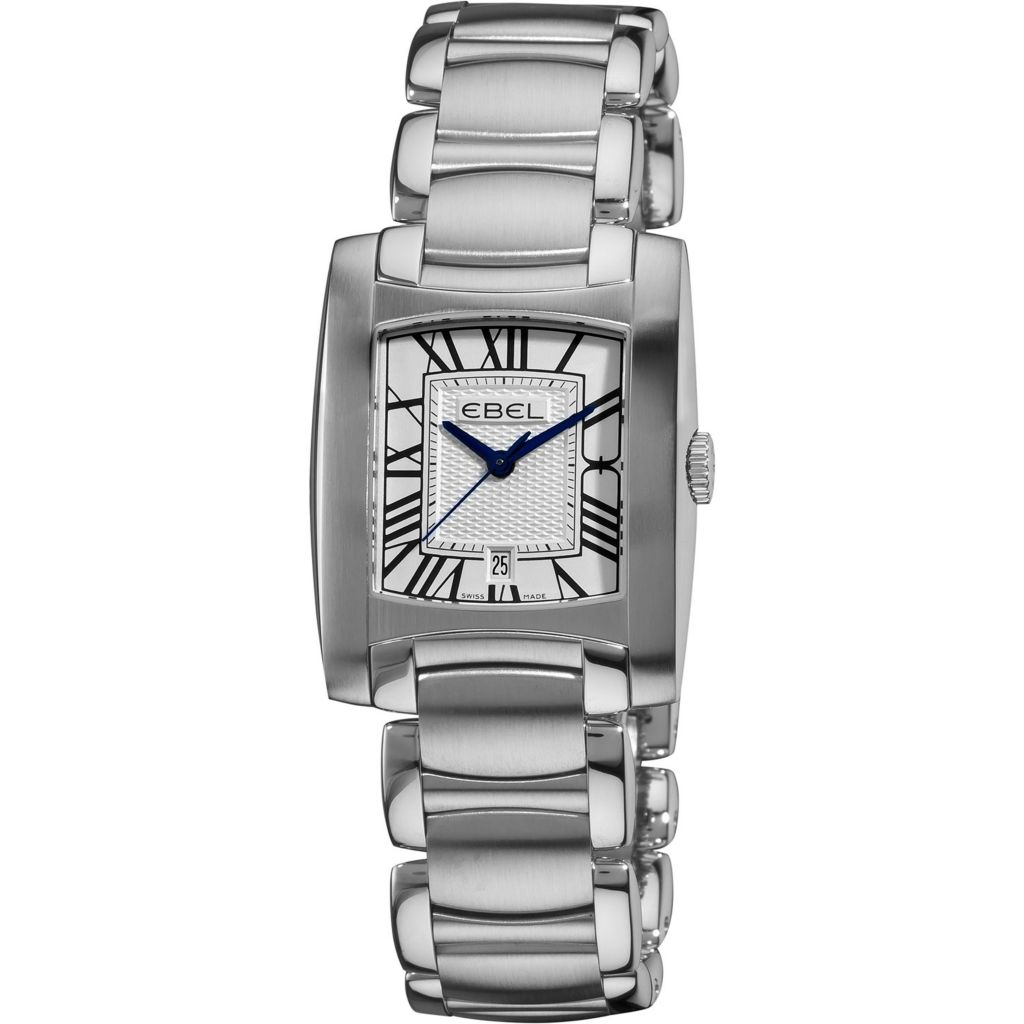 628-032 - Ebel Women's Brasilia Swiss Made Date Stainless Watch 9257M31-61500