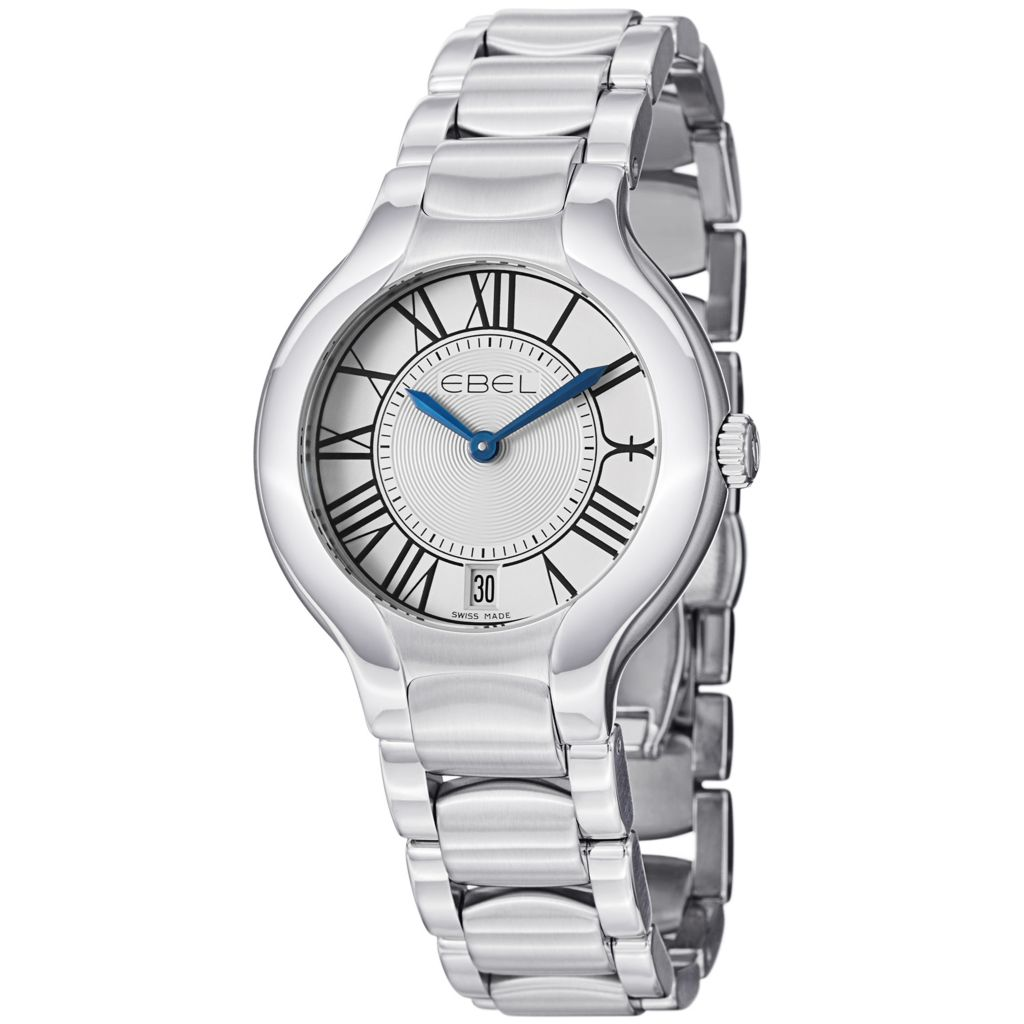 628-036 - Ebel Women's Beluga Grande Swiss Made Quartz Stainless Watch