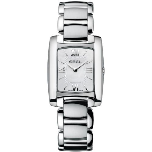 628-037 - Ebel Women's Brasilia Swiss Made Quartz Stainless Steel Bracelet Watch