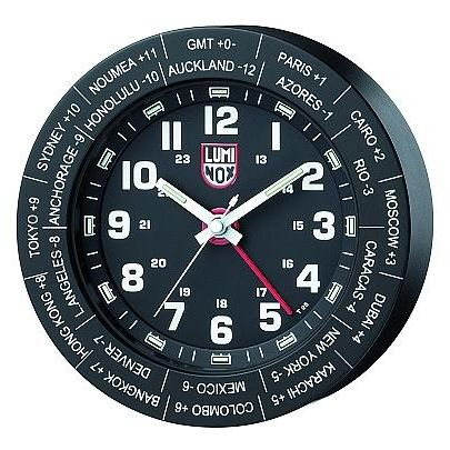 628-045 - Luminox Worldtime GMT Wall Clock