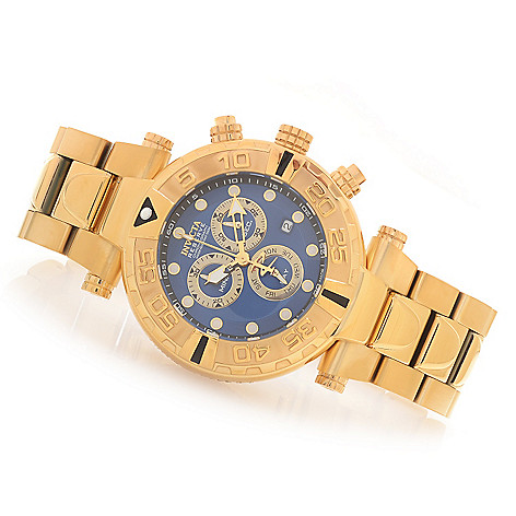 628-054 - Invicta Reserve 47mm Subaqua Noma I Swiss Made Quartz Chronograph Stainless Steel Bracelet Watch