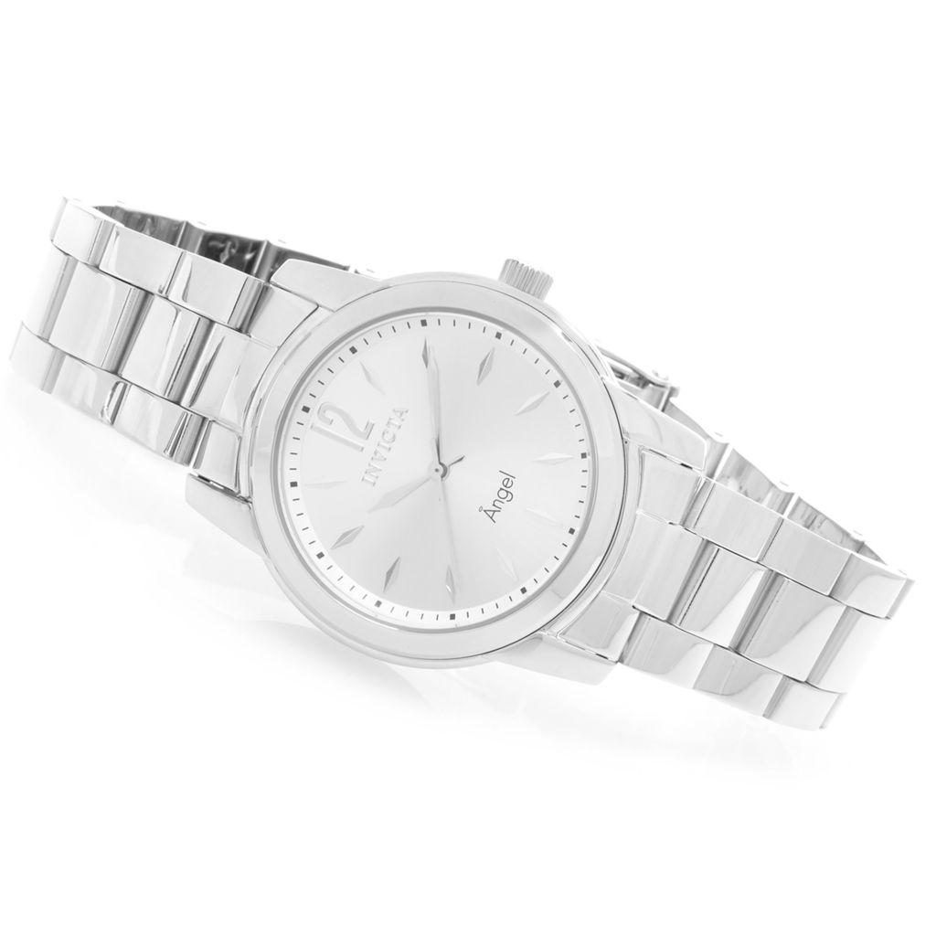 628-103 - Invicta Women's Angel Quartz Stainless Steel Bracelet Watch