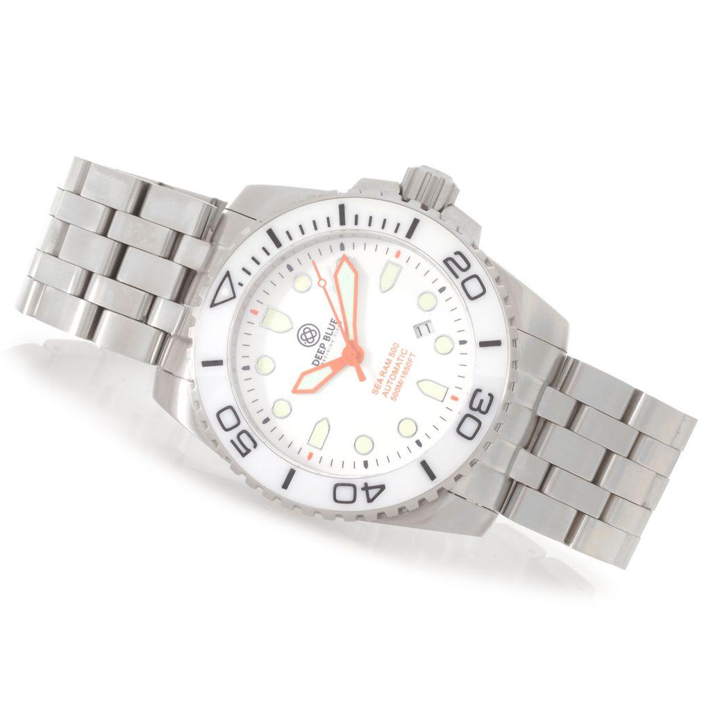 628-117 - Deep Blue 45mm Sea 500M Automatic Stainless Steel Bracelet Watch