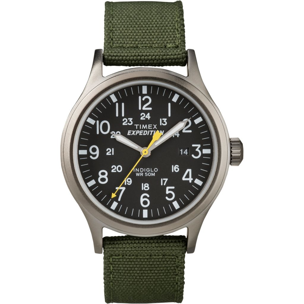 628-180 - Timex 40mm Expedition Scout Quartz Date Nylon Strap Watch