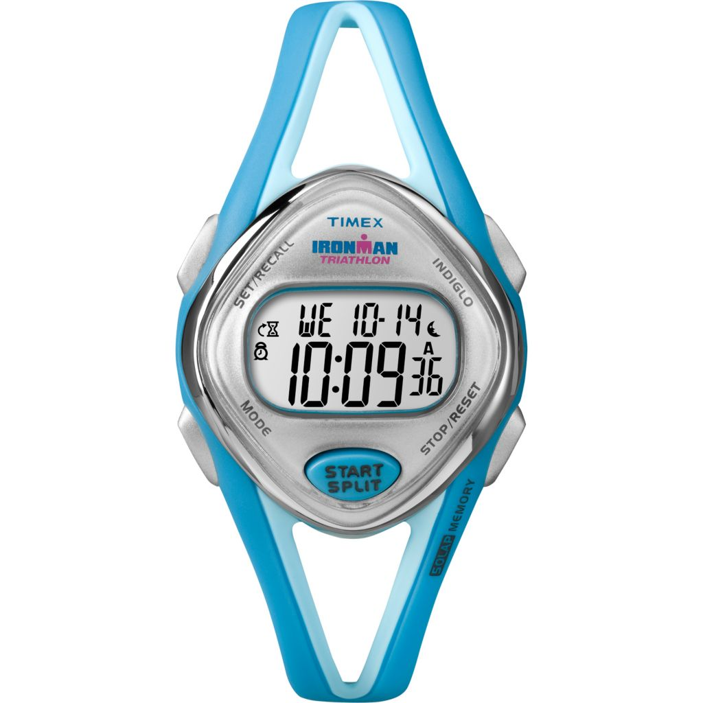 628-186 - Timex Woman's Ironman Digital 50-Lap Resin Strap Watch