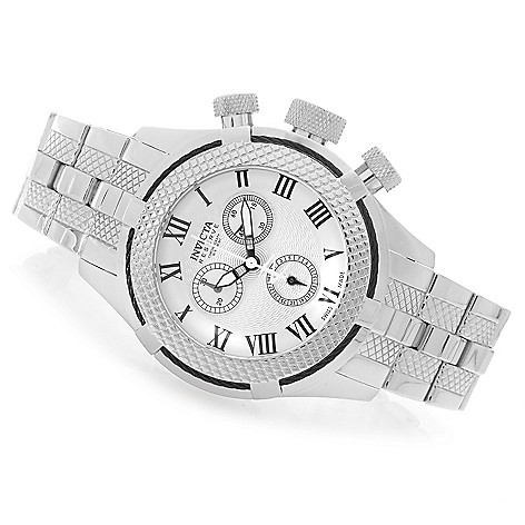 628-240 - Invicta Reserve 41mm Bolt Gen. III Swiss Chronograph Bracelet Watch w/ Eight-Slot Dive Case