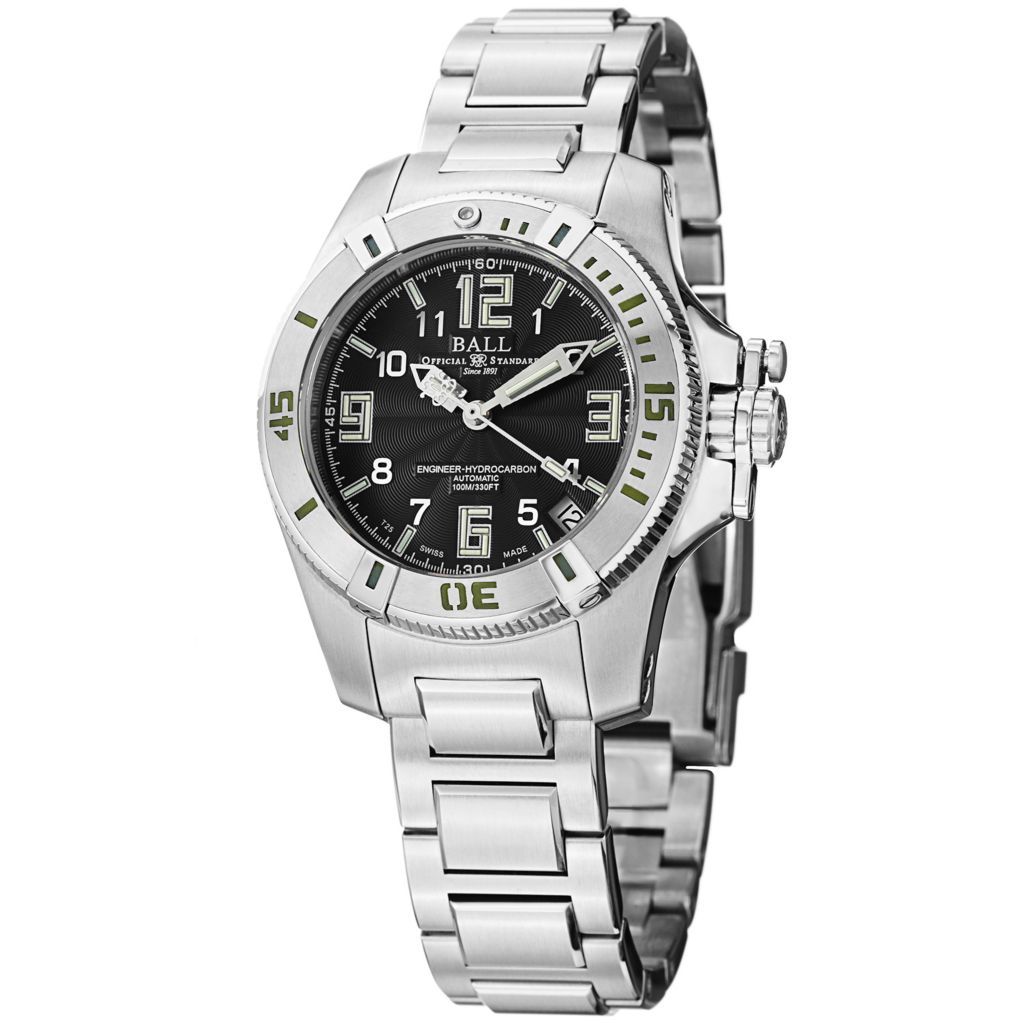 628-296 - Ball Women's Engineer Hydrocarbon Swiss Made Automatic Stainless Steel Bracelet Watch
