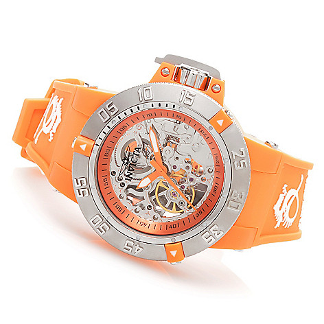 628-361 - Invicta 42mm Subaqua Noma III Anatomic Mechanical Silicone Strap Watch