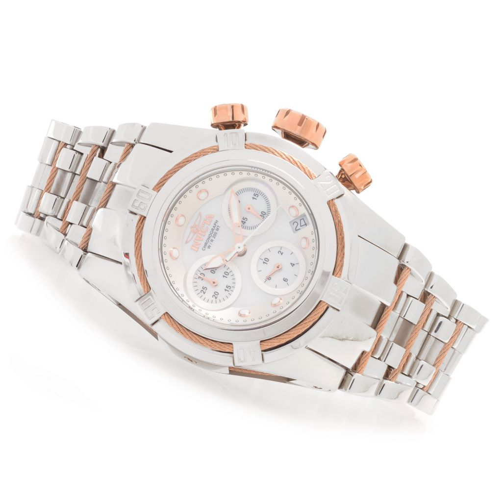 628-385 - Invicta Women's Bolt Zeus Quartz Chronograph Stainless Steel Bracelet Watch