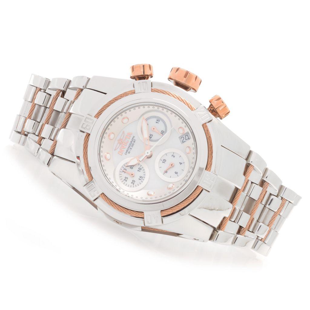 628-385 - Invicta Women's Bolt Zeus Quartz Chronograph Stainless Steel Bracelet Watch