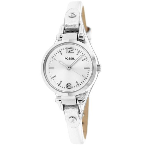 628-434 - Fossil Women's Georgia Quartz Leather Strap Watch
