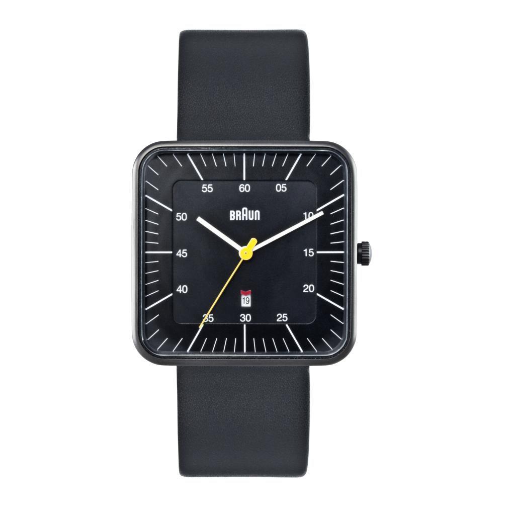 628-500 - Braun Women's Classic Quartz Date Leather Strap Watch