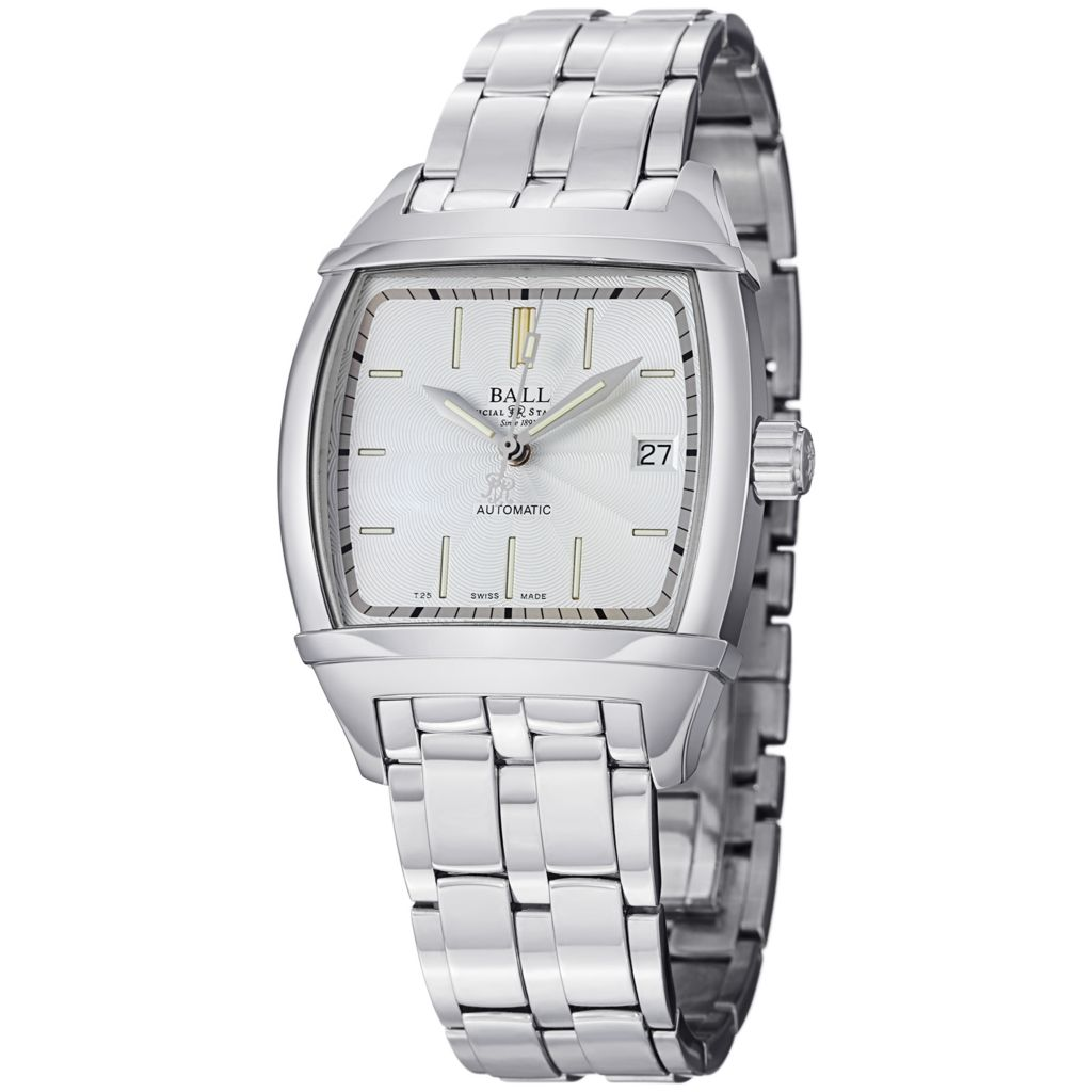 628-673 - Ball 35.5mm Conductor Classic Swiss Made Automatic Stainless Steel Bracelet Watch