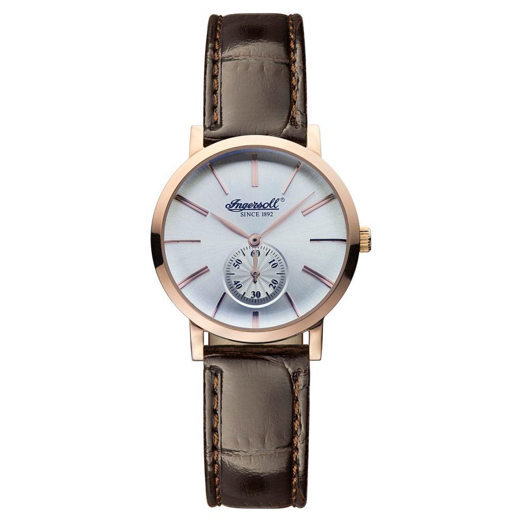 628-749 - Ingersoll Women's Springfield Swiss Quartz Leather Strap Watch