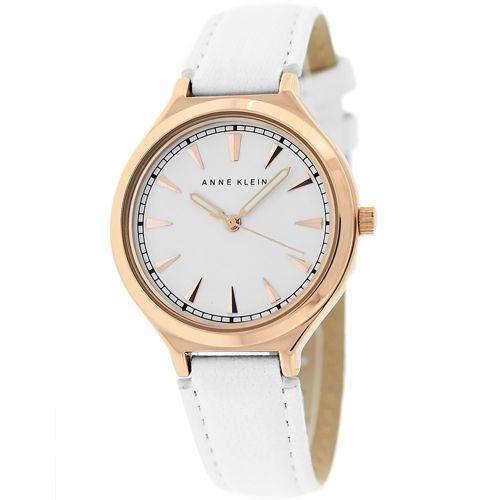 628-771 - Anne Klein Women's Classic Quartz Leather Strap Watch