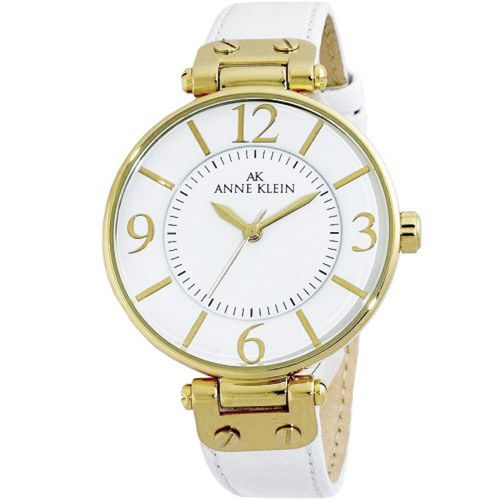 628-823 - Anne Klein Women's Classic Quartz Leather Strap Watch